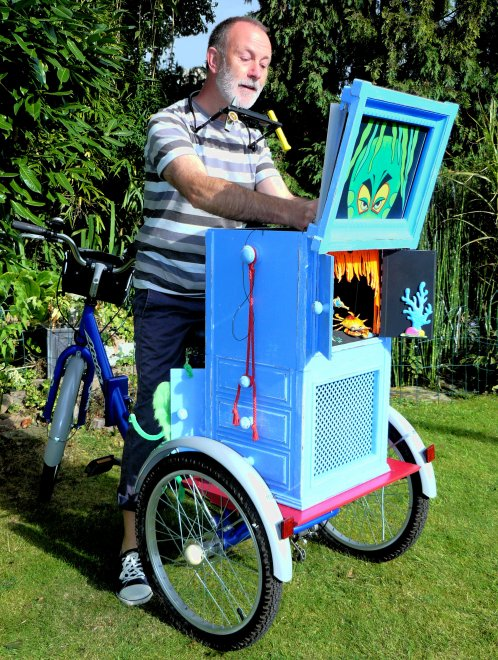 Story Box Bicycle Storytelling