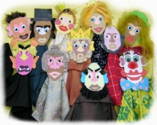 Chatterbox puppets group